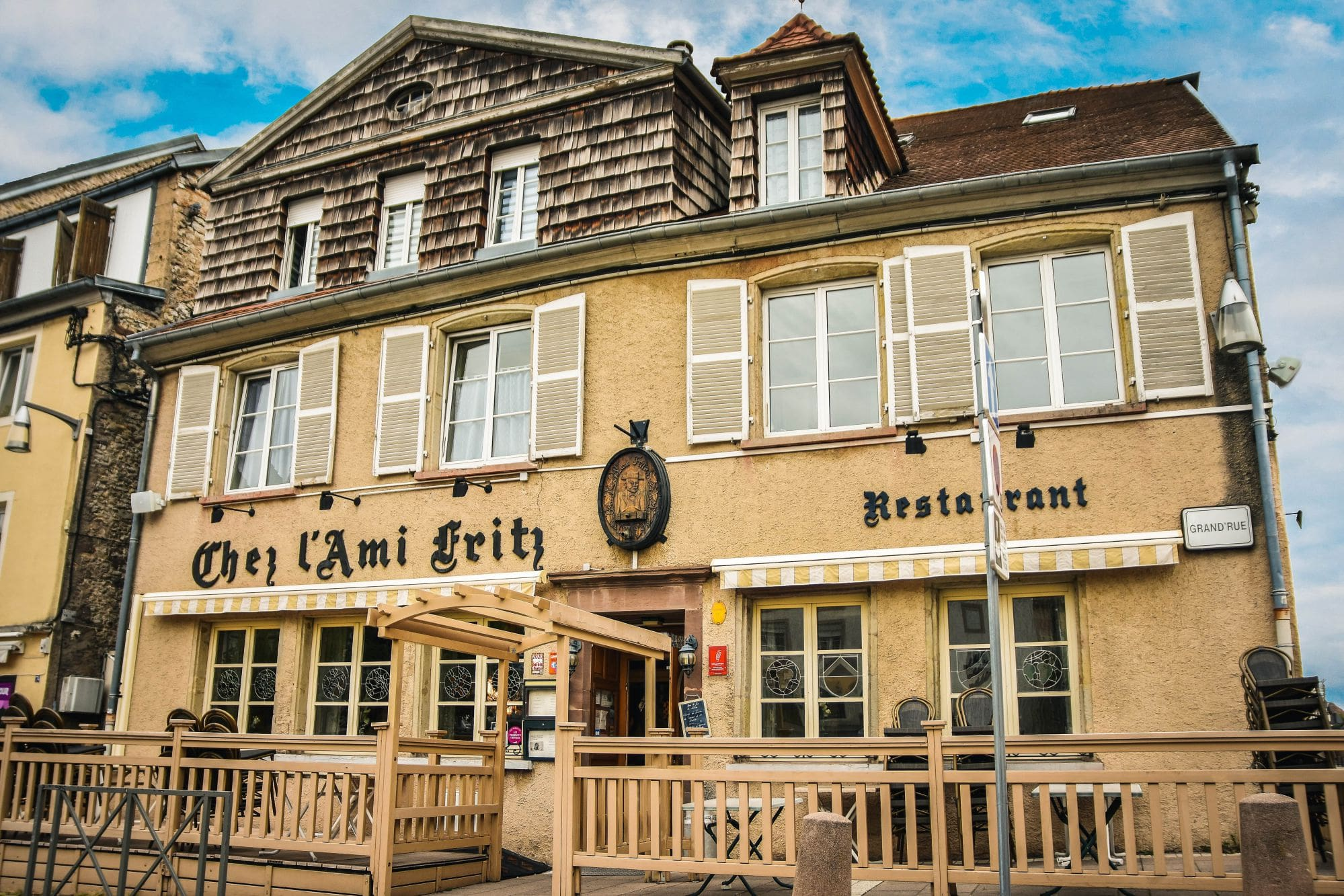 Restaurant Chez l'Ami Fritz