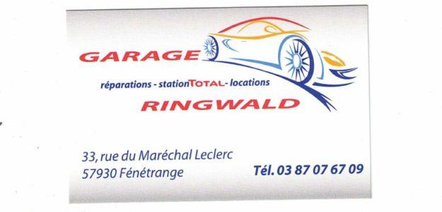 GARAGE RINGWALD