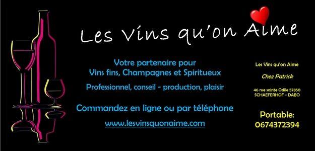 Les vins qu'on aime